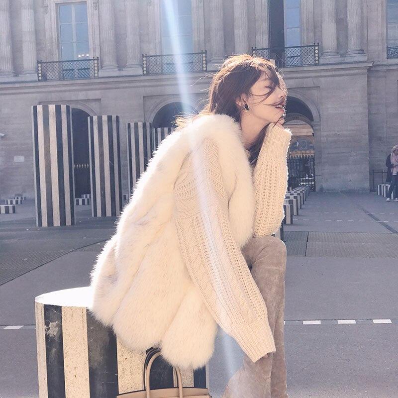 Mode nouvelle fausse fourrure gilet 2019 grande taille femmes hiver fausse fourrure vestes blanc Long fourrure manteaux femme