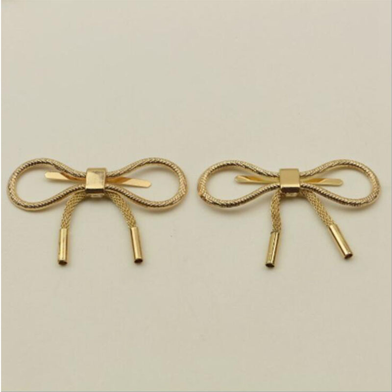 10pcs/lot Luggage Bag Hardware Accessories Metal Decorated Buckle Shoe Buckle Adornment Bag Hardware Accessories
