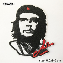 che guevara Cuban Revolution Iron on stickers Patches for Clothes Hat DIY Individual clothing