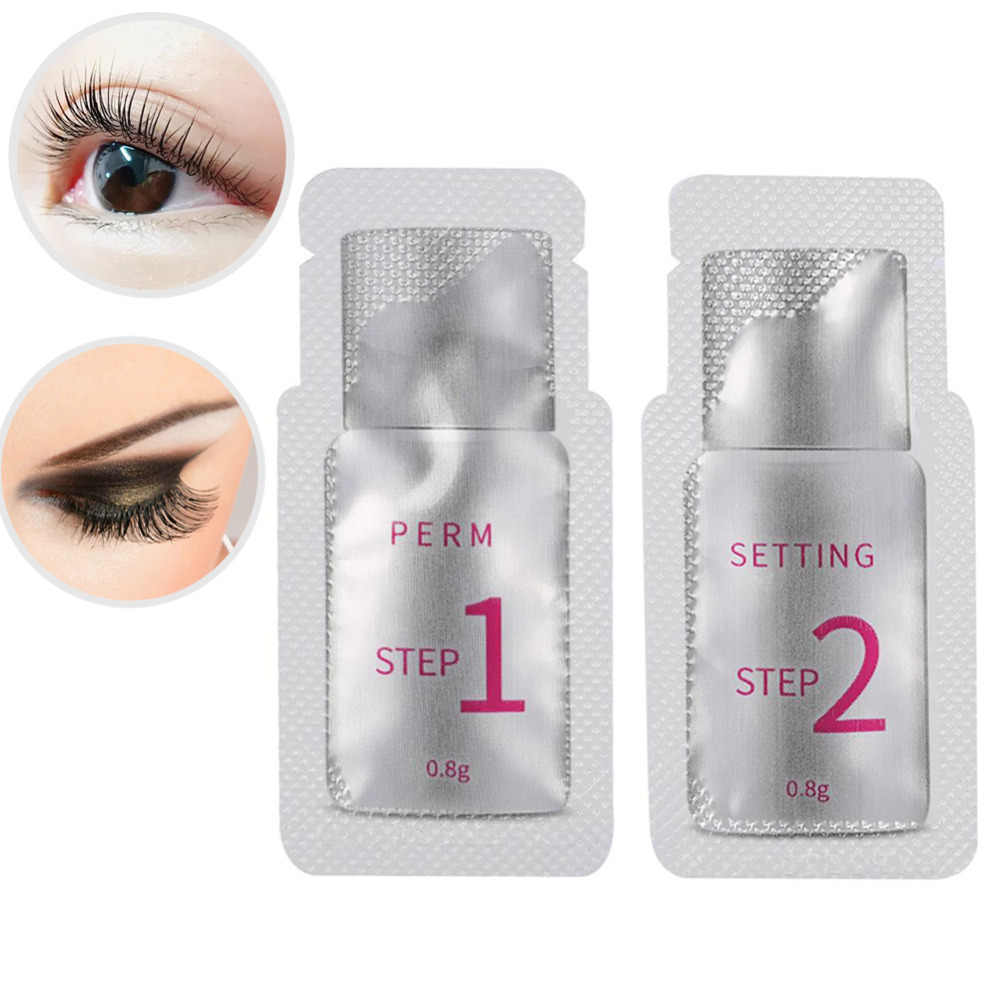 Professional Eyelash Perm Lotion for Eyelashes Perming Curling Lash Lift Growth Treatment Eye Lash Extension Curler Makeup Tool
