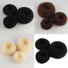 Korean Style Bud Head Ball Disk Donuts Dish Hair Hairdressing tools For Women Accessories