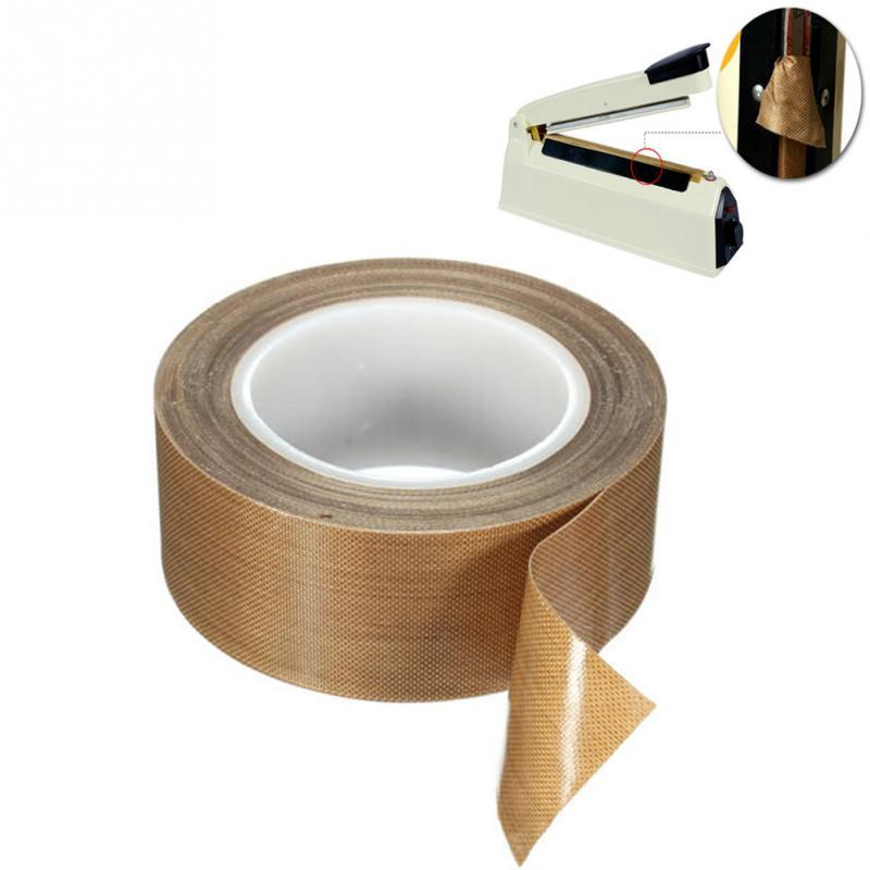 10M Thick PTFE High Temperature Heat-Resistant Adhesive Tape General Practical Insulation Safe Tape