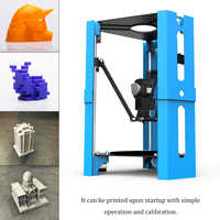 Mini High Precision Home DIY Desktop FDM 3D Printer Complete Machine with Low Energy Consumption Easy to Use