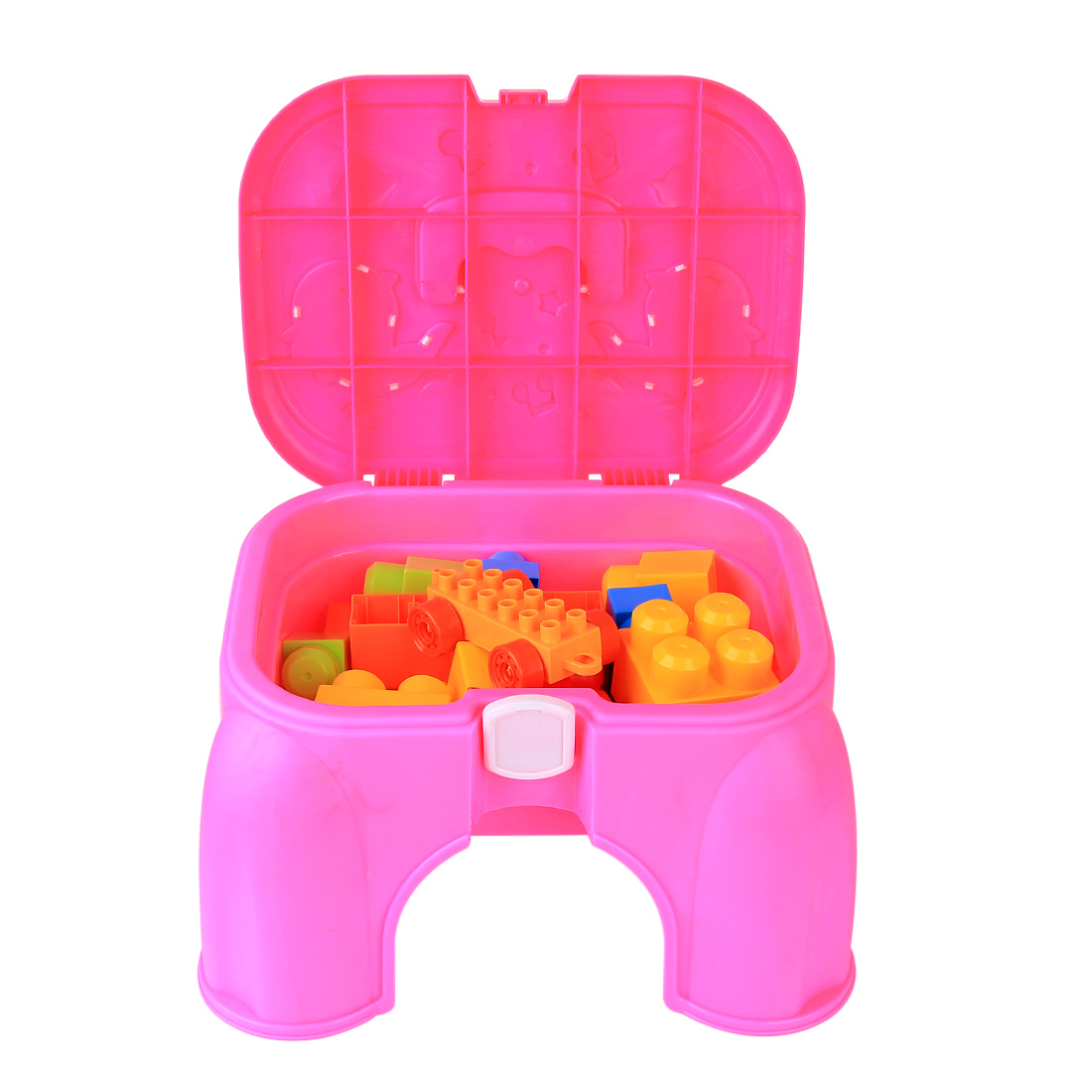 2019 New 20Pcs/set Outdoor Summer Beach Sand Toys Storage Chair Learning Educational Playset for Kids - (Parts Random Color)