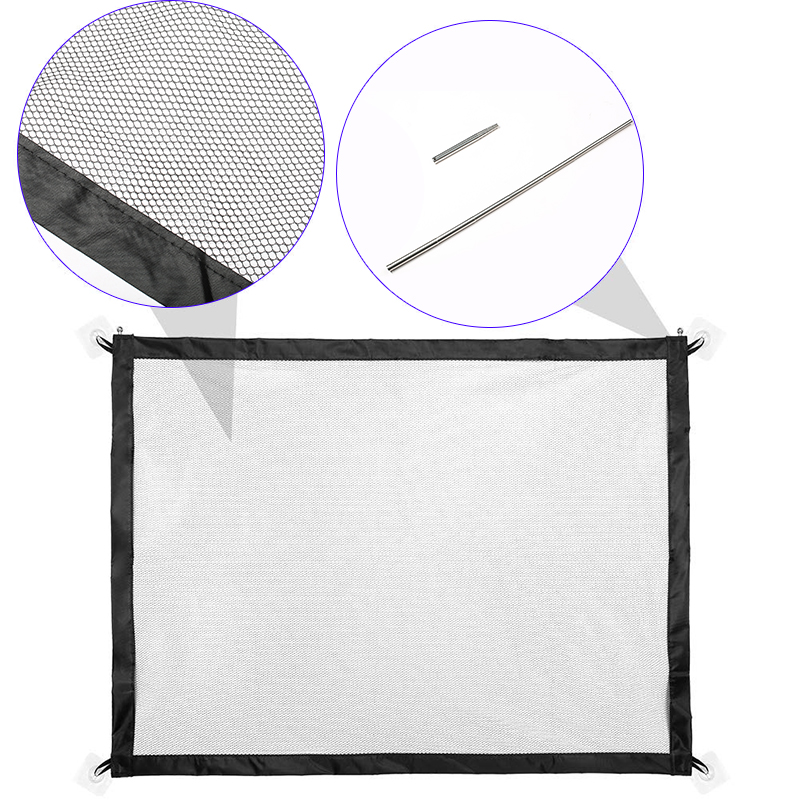 Cat Fence Magic Dog Safety Protection Collapsible Pet Mesh Fence Dog Accessories Dog Fence Portable Pet Dog Isolation Net Door