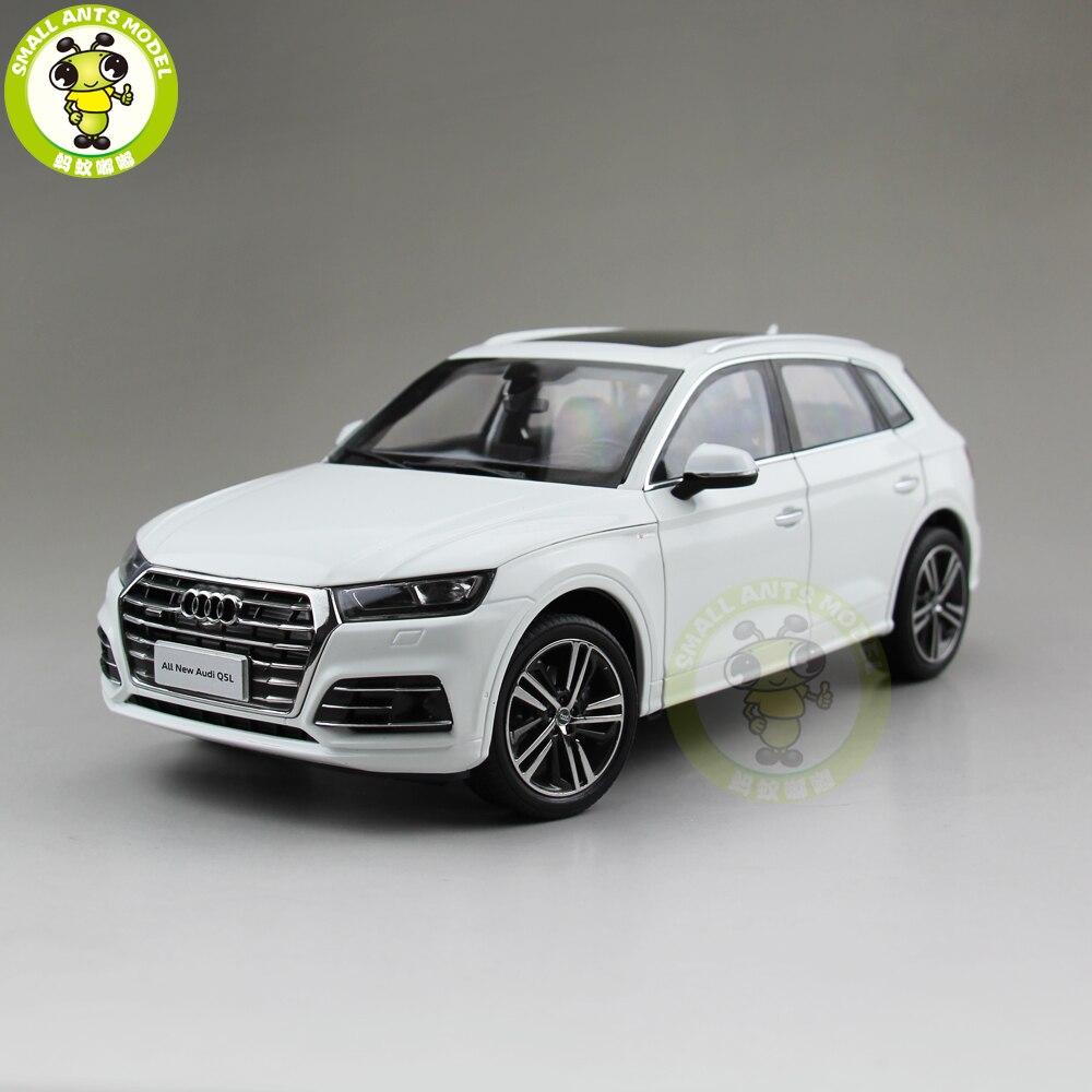 1/18 NEW Q5 Q5L SUV Diecast Metal Car SUV Model Toys For Girl Kids Boy Birthday Gift White