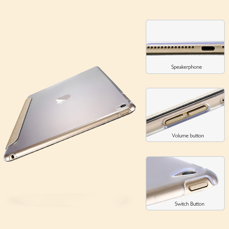 Tablet Case for Apple iPad Air 2 2014 A1566 A1567 3G LTE 9 7 inch Magnetic PU Leather Smart Cover Auto Wake &Sleep Stand Cover in Tablets e Books Case from Computer Office