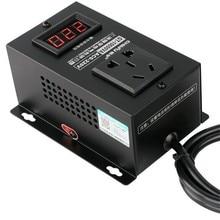 Controlador de alta potencia de 10000w, electrónica, órgano de voltaje, ventiladores de maquinaria eléctrica, taladro eléctrico, controlador de velocidad Variable, CA 220V