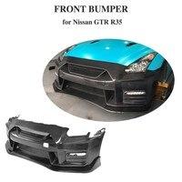 Carbon Fiber Bumper For 2009 2017 Nissan GTR Coupe 2 Door Front Bumper Bodykit