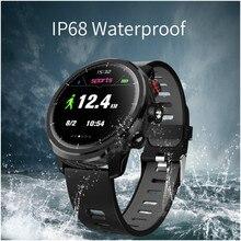 Купить с кэшбэком Fashion Mirror Screen Smart Watch 1.3 inch  380mAh Multi-sport Mode Heart Rate Monitor Bluetooth IP68 Waterproof Android & iOS