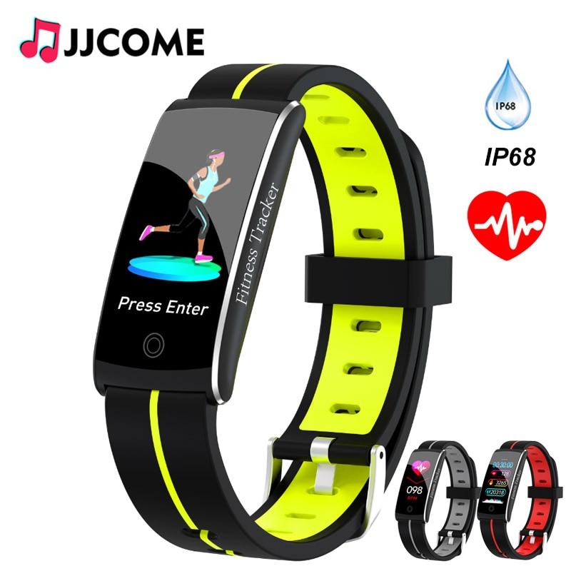 F10C Smart Bracelet Blood Pressure Heart Rate Monitor ip68 Waterproof Fitness Band Activity Tracker For Men Women Smart Watch