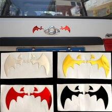 4 cores 3d etiqueta do carro voar morcego asas pvc rótulo veículo subsídios de automóvel scratch decalque personalidade decoração acessórios
