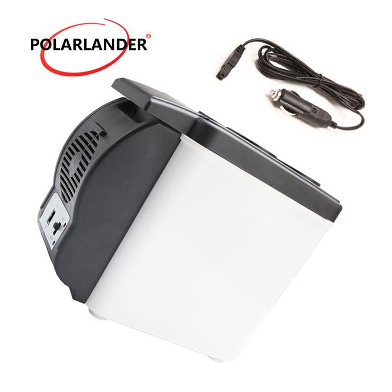 Portable Car Refrigerator Cooler Freezer Warmer 48W 12V 6L ABS Mini Travel home Auto Fridge Double Use|auto fridge|car refrigerator|portable car refrigerator -
