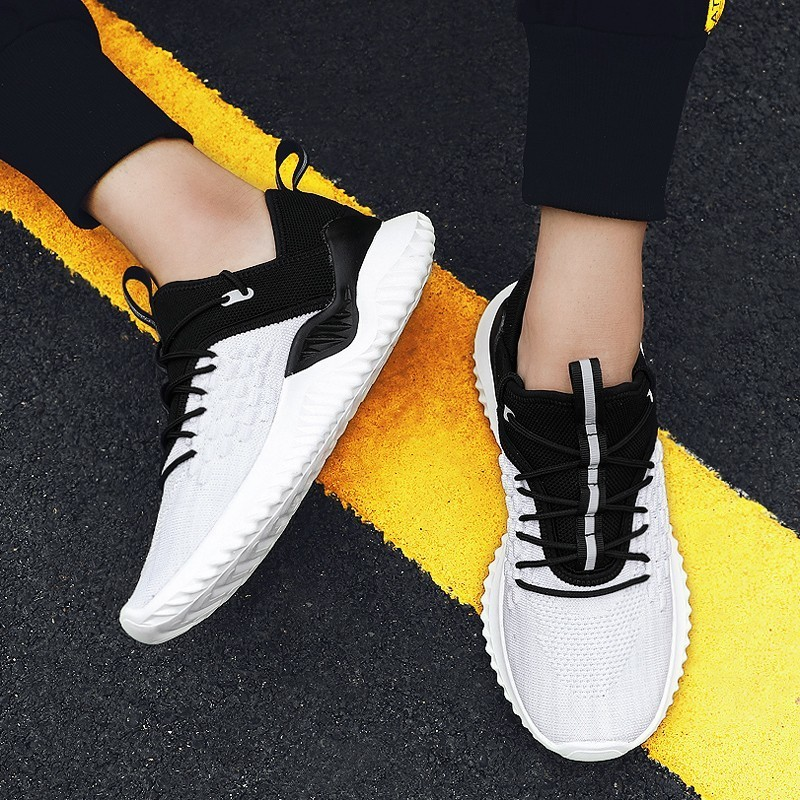 Basic Boots 2019 Men Shoes Ankle Boots Sneakers High Top Comfortable Casual Shoes Fashion For Male Lightweight Breathable Sapatos Masculinos Cool In Summer And Warm In Winter