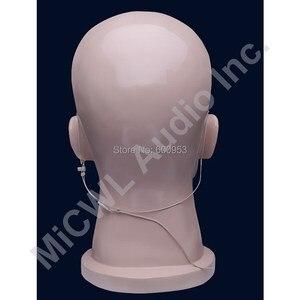 Image 2 - Beige Omnidirektionale Wireless Headset Kopf getragen Mikrofon Mikrofone für AKG Samson Gemini 3 Pin XLR mini Radio Mikrofone System