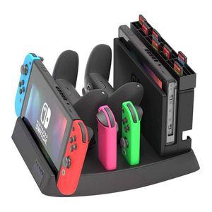 Image 4 - Soporte de pantalla de carga para muelle de carga de Nintendo Switch y soporte de juego para consola de interruptor, controladores Joy Con, interruptor Pro C