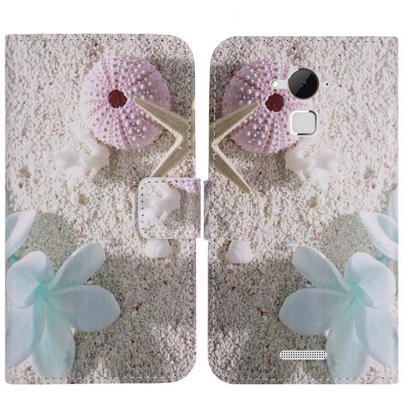 TienJueShi Zarif Şık Tasarım Koruma deri kılıf telefon kılıfı Için Coolpad Not 3 Lite Artı Kabuk Cüzdan Etui Cilt