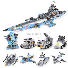 hot LegoINGlys military technic Space war 8in1 Super cosmological warship MOC Building Blocks model brick toys for children gift
