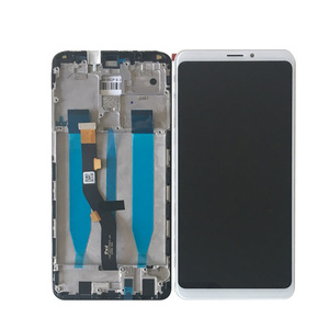 Image 3 - ЖК экран 6,0 дюйма для Meizu Note 8 M822H Axisinternational с сенсорным дигитайзером для Meizu Note 8 Frame