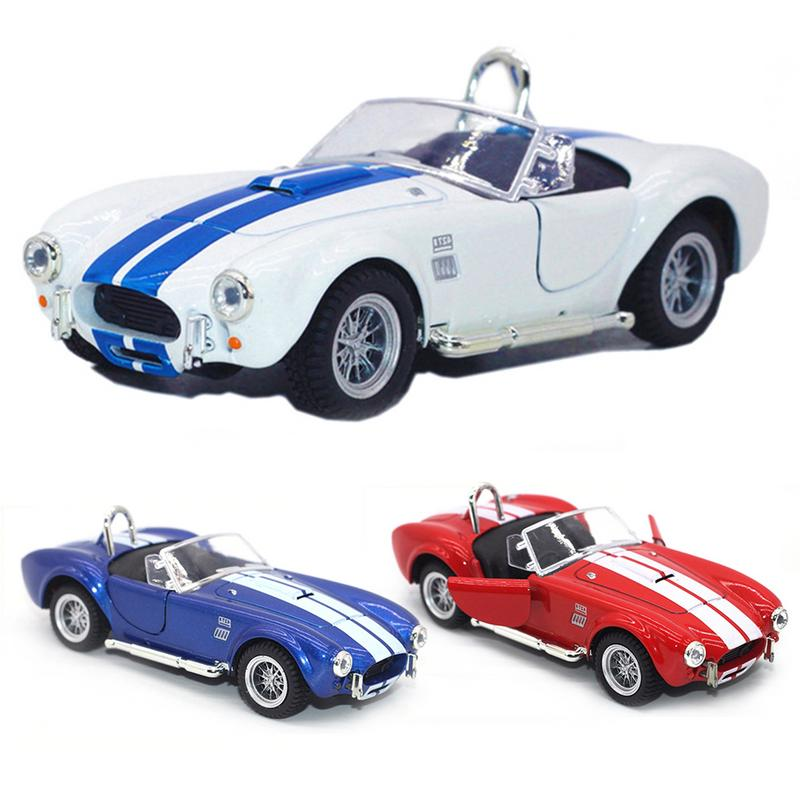 New Arrvial 1:32 Ford Shelby Cobra Diecast Retro Metal Car Model Light And Sound Pull-back Car ToyNew Arrvial 1:32 Ford Shelby Cobra Diecast Retro Metal Car Model Light And Sound Pull-back Car Toy