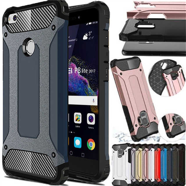 Hybrid Armor Full Cover For Huawei P8 P9 Lite 2017 P10 Plus P20 Pro P Smart Nova 3i Y5 Prime Y6 Y7 2018 Y9 2019 Honor 7A 7C Case