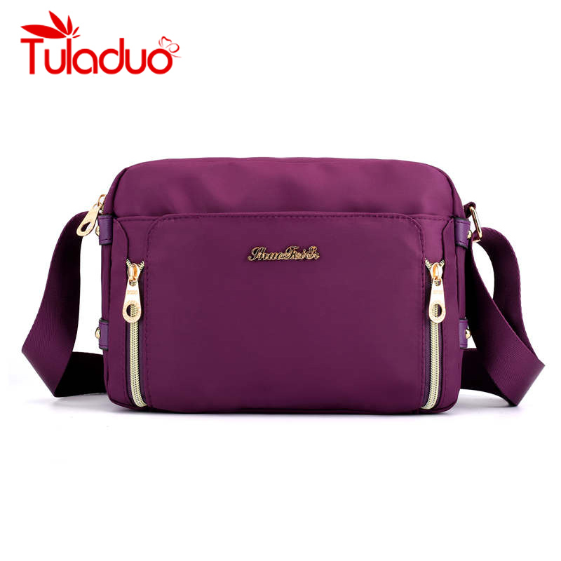 New Women Messenger Bags For Women Waterproof Nylon Multifunction Female Shoulder Bag Ladies Crossbody Bags Bolsa Sac A Main