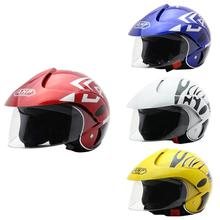 Four Seasons Childrens Helmet Electric Motorcycle Harley Half Men And Women Baby Riding Autumn Winter