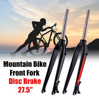 10x67cm Aluminum MTB Carbon Bike Bicycle Rigid Front Fork Disc Brake Mount Tapered Mountain Road Bike Cycling Fork Bicycle Parts