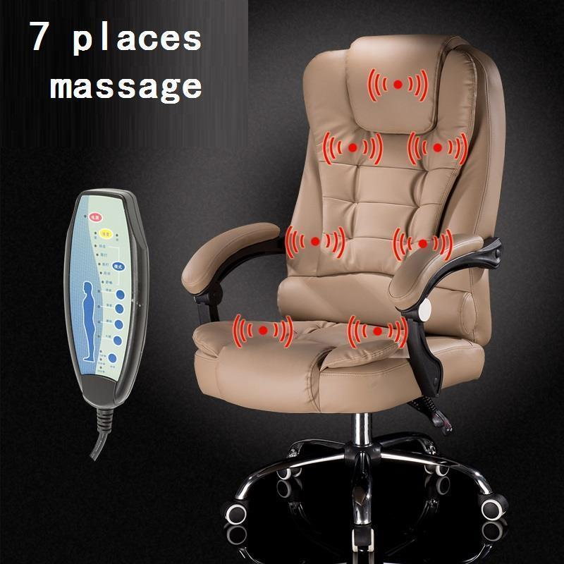 Купить с кэшбэком Oficina Boss T Shirt Stoel Chaise De Bureau Ordinateur Sedia Ufficio Leather Silla Cadeira Poltrona Gaming Massage Office Chair