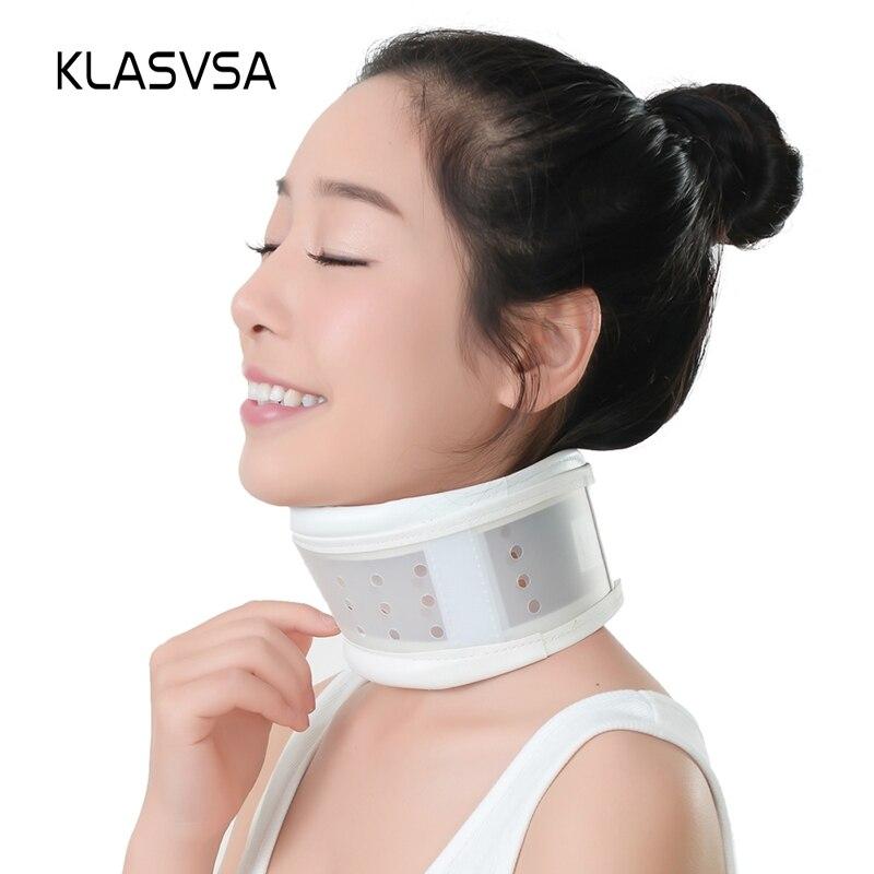Einstellbar Atmungs Kunststoff Neck Unterstützung Brace Strap Massager Zervikale Traktion Schmerzen Relief Neck Entspannung Gesundheit Pflege