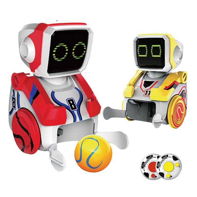 Coup de pied Robot Puzzle électrique télécommande Interactive intelligente pour enfants garçons et filles 2 pièces