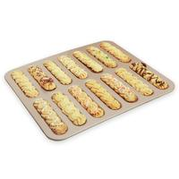 14 Cavity Round Muffin Cup Baking Pan Bread Cake Pan 3D Non stick Easy Release Pastry Dessert DIY Baking Tools Bakeware