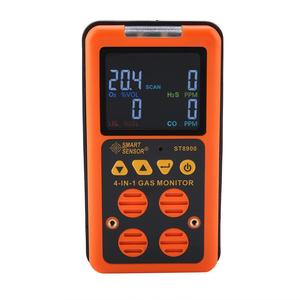 Image 2 - Capteur intelligent ST8900 détecteur multi gaz pour analyseur de gaz de compteur de gaz Rechargeable CO, O2, H2S, LEL