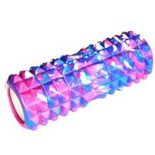 Colorful Ribbed Yoga Training Roller Block