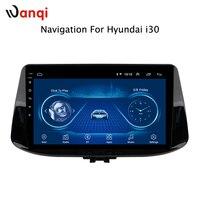 9 дюймов для hyundai i30 2017 2018 автомобильный Интеллектуальный Мультимедиа Радио стерео видео плеер gps навигация