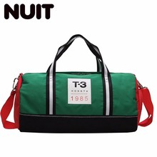 Male Travelling Bags Dry And Wet Separation Woman Portable Tote Bag Single Shoulder A Short Trip