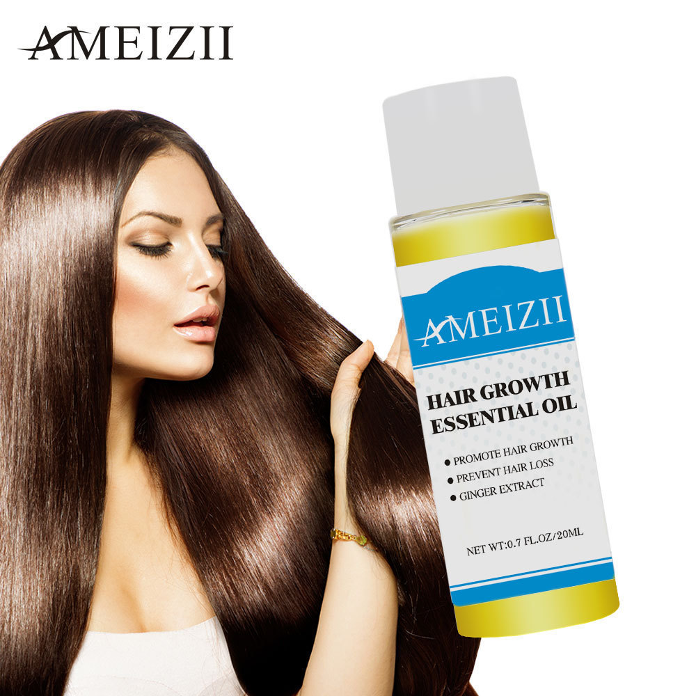 Ameizii Hair Liquid Defence If Ginger Shampoo Yu Shampoo Hair Essence Element Increase Liquid Foreign Trade Cross Border Oem Beneficial To The Sperm Hair Care & Styling