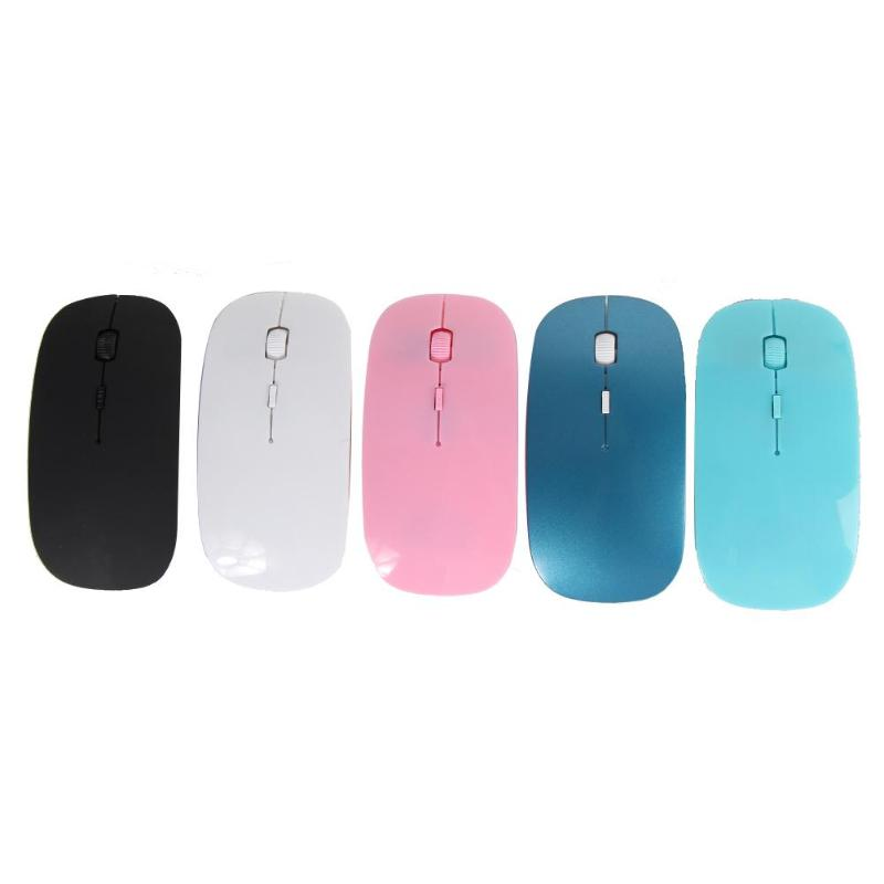 Gaming Mouse Optical 2.4G Wireless Mouse Fashion Ultra-thin Computer Mouse With USB Receiver Mice Computer Mouse For Laptop New
