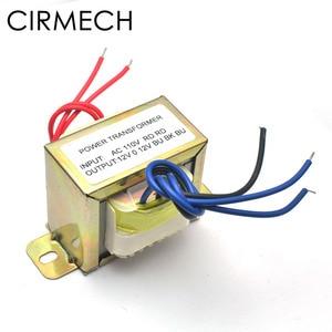 Image 2 - CIRMECH Dual ac 12v 30W Square EI transformer for preamplifer amplifer tone board use 110V 220V in optional