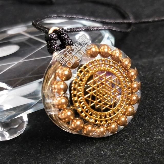 Crystal Healing Orgonite Pendant