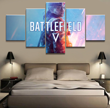 HD Printed battlefield 5 Game scenario Painting piece Canvas art Print room decor print poster picture canvas Free shipping