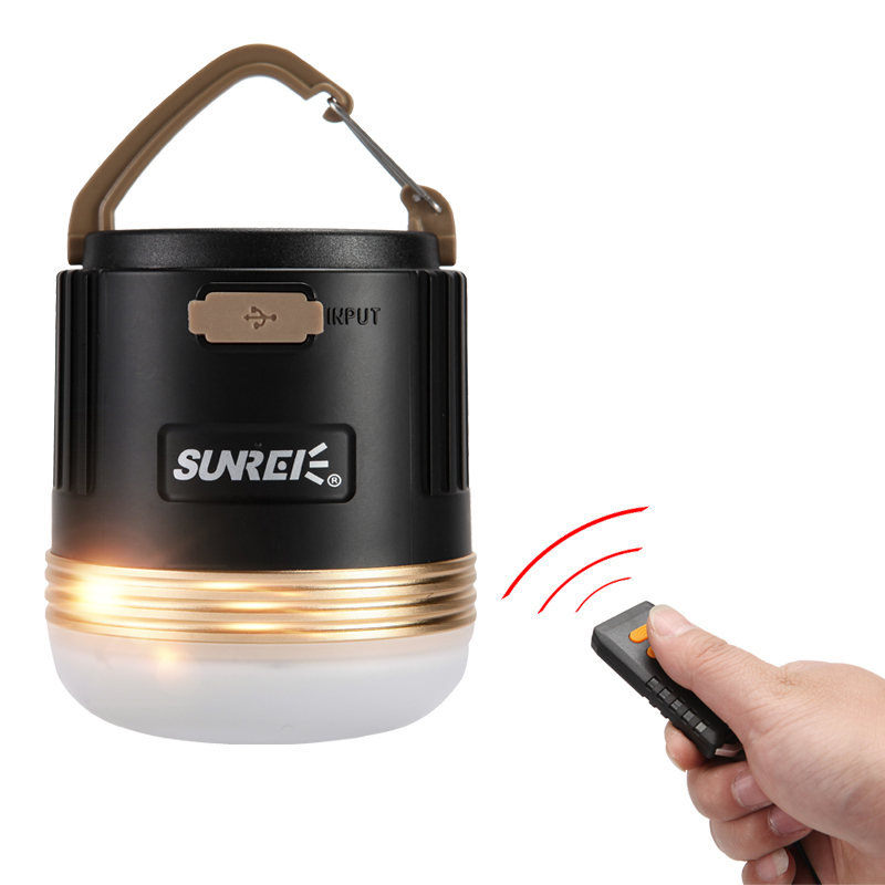 SUNREI CC3 Outdoors Camping Light 550 lumens 5W Rechargeable Camping Emergency Light Portable LED Lantern Lamp 9900mAh Battery
