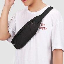New Men Waterproof Waist Packs Travel Phone Belt Pouch Oxford Cloth Sport Waist Bag Pack Purse Black Adjustable Men Casual Bags цена и фото