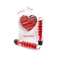Saninex Vibrator Fantastic Reality-Metallic/Red Consolator Dildo Vibrator