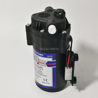 Mute Micro 24v 75g Water Pump Diaphragm Pump Self Priming Booster Pump for Water Purifier
