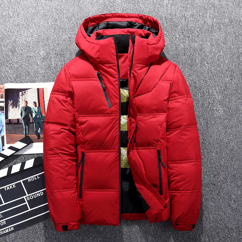 481a910cdeb9 2018 Brand Winter Men Down jacket Casual Mens Down jacket And Coats Thick Parka  Men Outwear