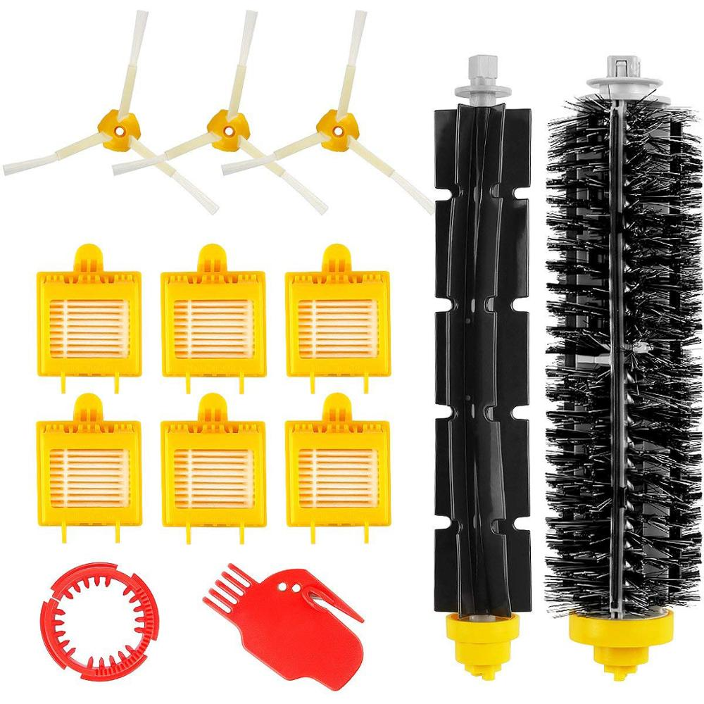 Bristle Flexible Beater Armed Brush Aero Vac Filter Side Brush For IRobot Roomba 750 760 765 770 774 775 776 782 785 786 780 790