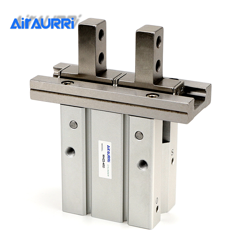 MHZ2 40D Double Acting Air Gripper Pneumatic Finger Cylinder SMC Type Aluminium Clamps Bore 40 MHZ2-40D Covering purposeMHZ2 40D Double Acting Air Gripper Pneumatic Finger Cylinder SMC Type Aluminium Clamps Bore 40 MHZ2-40D Covering purpose