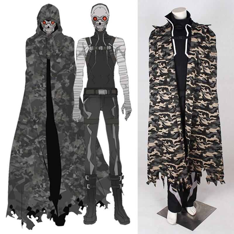Sword Art Online GGO Sterben Death Gun Cosplay Costume Men Outfit