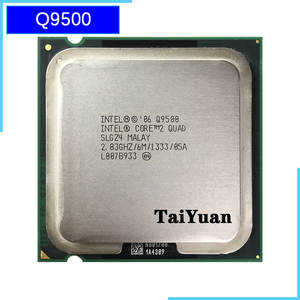Intel Core 2 Quad Q9500 2.83 GHz Quad-Core CPU Processor 6M 95W 1333 LGA 775